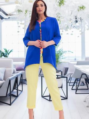 Костюм: блуза, брюки и жакет | 5379694