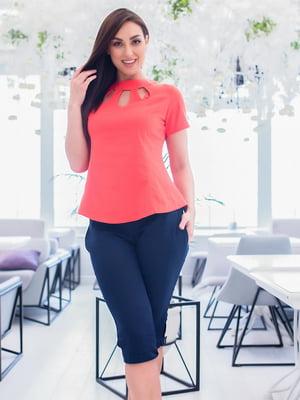 Костюм: блуза и капри | 5379703