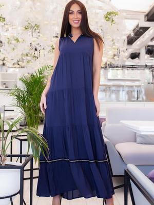 Сукня темно-синя | 5379706