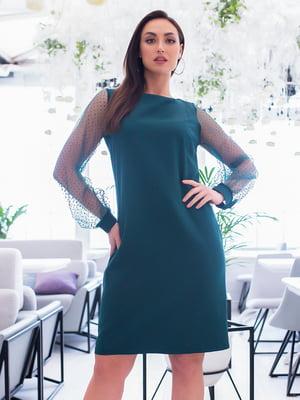 Сукня темно-зелена | 5379728