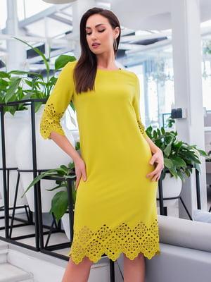 Сукня оливкового кольору | 5379743