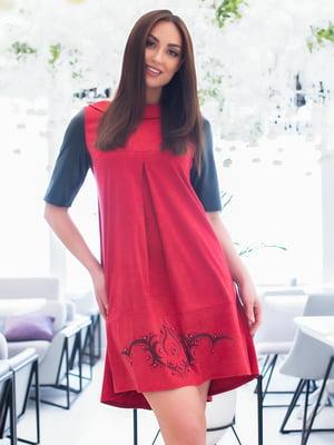 Сукня червоно-чорна | 5379745