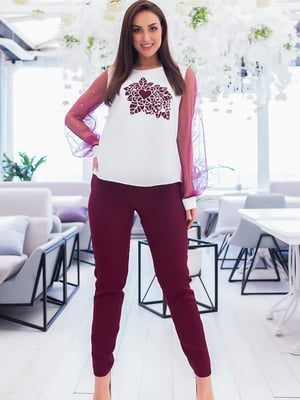 Костюм: блуза і штани | 5379755