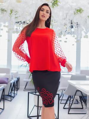 Костюм: блуза і спідниця   5379763
