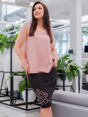 Костюм: блуза і спідниця | 5379764