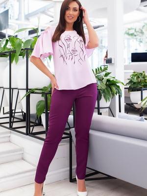 Костюм: блуза и брюки | 5379766