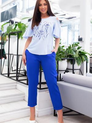 Костюм: блуза и брюки | 5379767