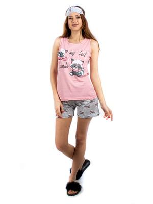 Пижама: майка и шорты | 5402060