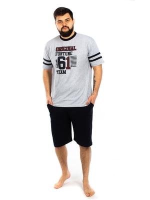 Пижама: футболка и шорты | 5402073