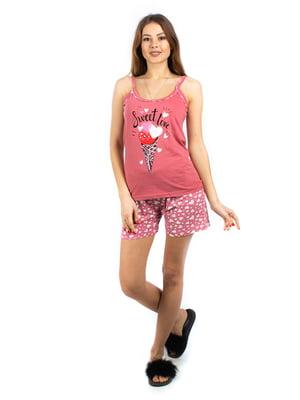 Пижама: майка и шорты | 5402047