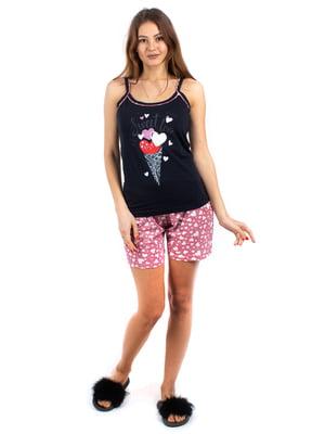 Пижама: майка и шорты | 5402048