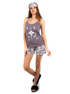 Пижама: майка и шорты | 5402058