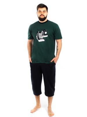 Пижама: футболка и капри | 5402062