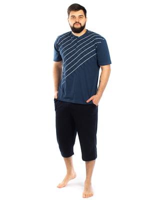 Пижама: футболка и капри | 5402072