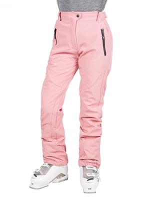 Брюки лыжные розовые | 5315556