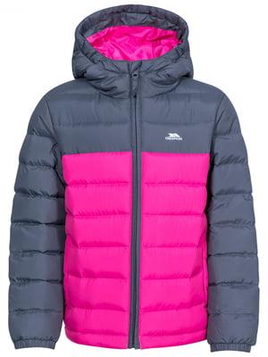 Куртка сіро-рожева | 5315899