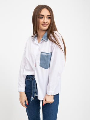 Рубашка белая | 5416079