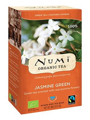 Чай зеленый органический с жасмином (18х2 г)   5403743