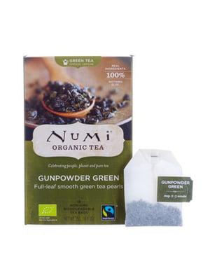 Чай зеленый органический «Ганпаудер грин» (18х2 г)   5403744