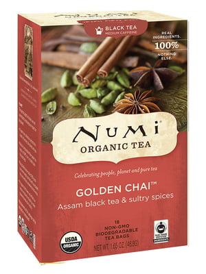 Чай черный органический «Золотой чай с пряностями» (18х2 г)   5403745