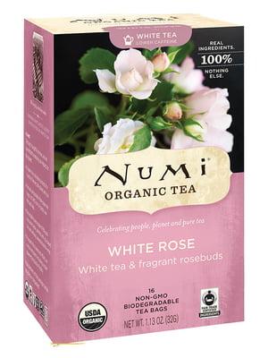 Чай белый органический «Белая роза» (16х2 г)   5403746