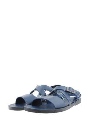 Сандалии синие | 5395905