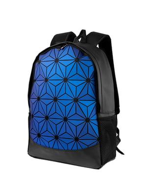 Рюкзак черно-синий   5416802