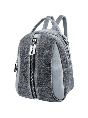 Рюкзак серо-голубой | 5416818