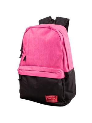 Рюкзак розово-черный   5416849