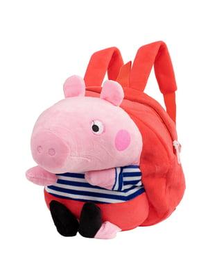 Рюкзак красно-розовый | 5416884
