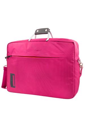 Сумка для ноутбука розовая | 5416893