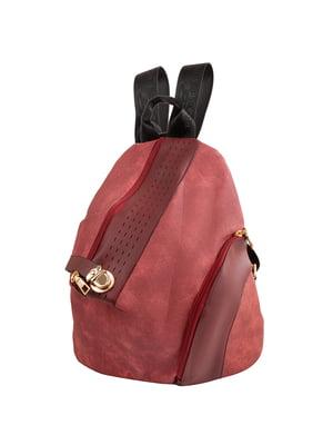 Рюкзак бордовий | 5416906