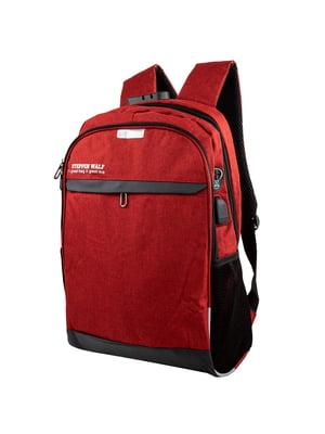 Рюкзак червоний   5416914