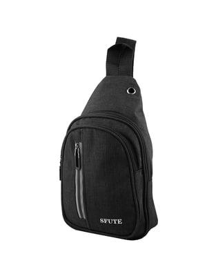 Сумка-рюкзак черная | 5416988