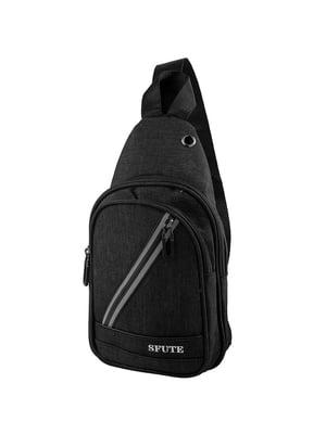 Сумка-рюкзак черная   5416989
