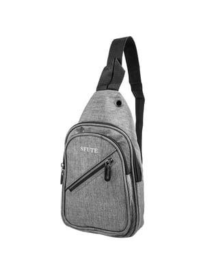 Сумка-рюкзак сіра   5417002