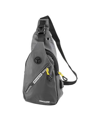 Сумка-рюкзак серая   5417004