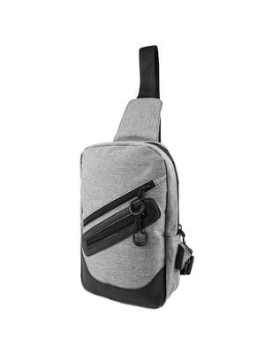 Сумка-рюкзак серая | 5417006