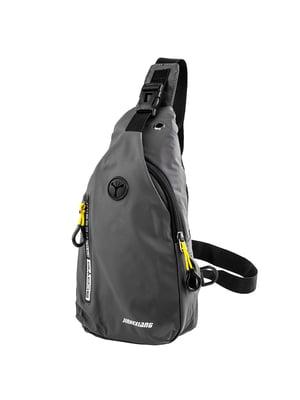 Сумка-рюкзак серая | 5417011