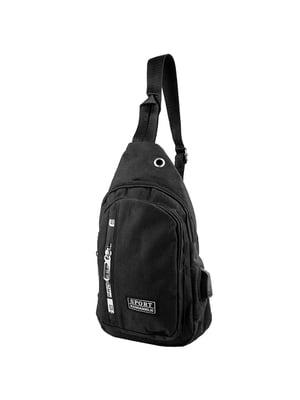 Сумка-рюкзак черная   5417017