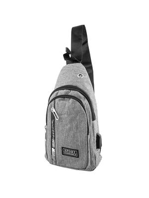 Сумка-рюкзак серая   5417018