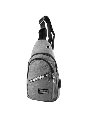 Сумка-рюкзак серая   5417019