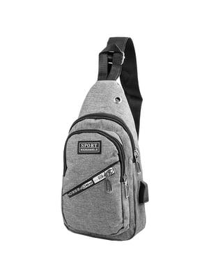 Сумка-рюкзак серая   5417021