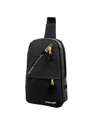 Сумка-рюкзак чорна   5417023