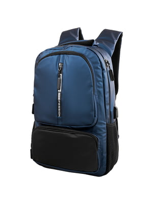 Рюкзак синьо-чорний | 5417030