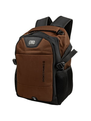 Рюкзак чорно-коричневий   5417038