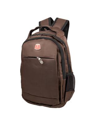 Рюкзак коричнево-чорний   5417045