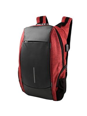 Рюкзак червоно-чорний   5417077