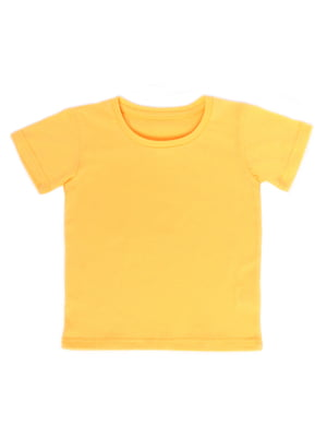 Футболка желтая | 5417188