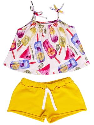 Комплект: майка и шорты | 5417164